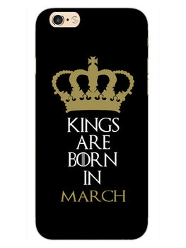 Kings March iPhone 6S Plus Mobile Cover Case