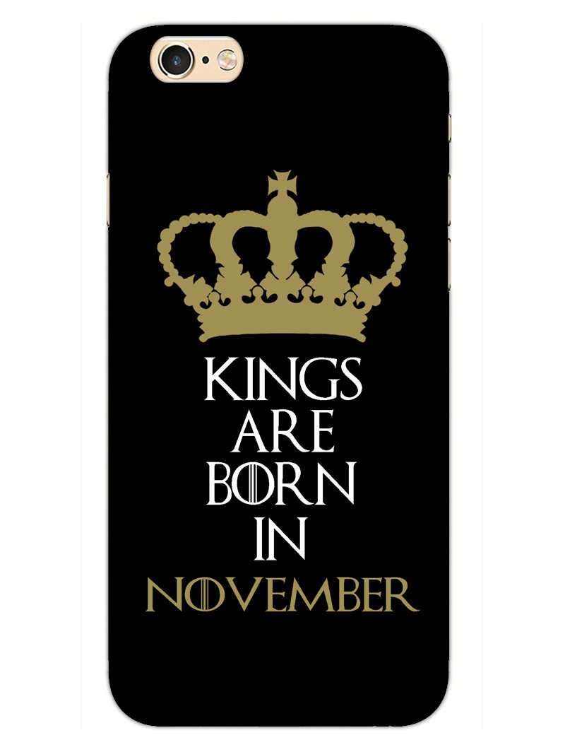 Kings November iPhone 6S Plus Mobile Cover Case