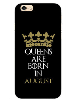 Queens August iPhone 6S Plus Mobile Cover Case