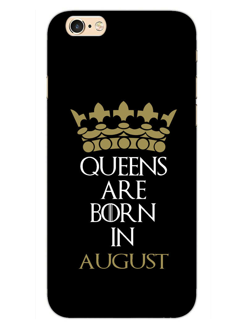 Queens August iPhone 6S Plus Mobile Cover Case - MADANYU