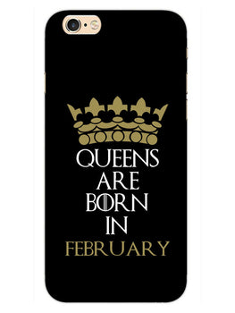 Queens February iPhone 6S Plus Mobile Cover Case