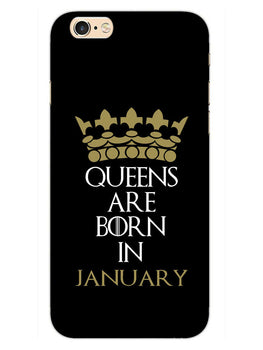 Queens January iPhone 6S Plus Mobile Cover Case