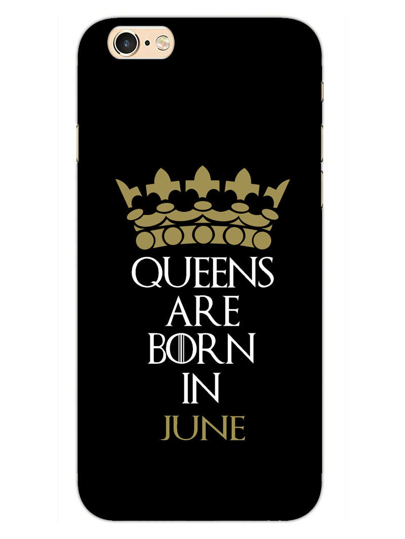 Queens June iPhone 6S Plus Mobile Cover Case