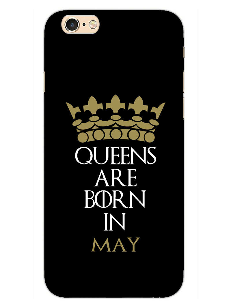Queens May iPhone 6S Plus Mobile Cover Case - MADANYU