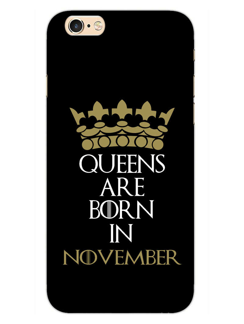 Queens November iPhone 6S Plus Mobile Cover Case - MADANYU