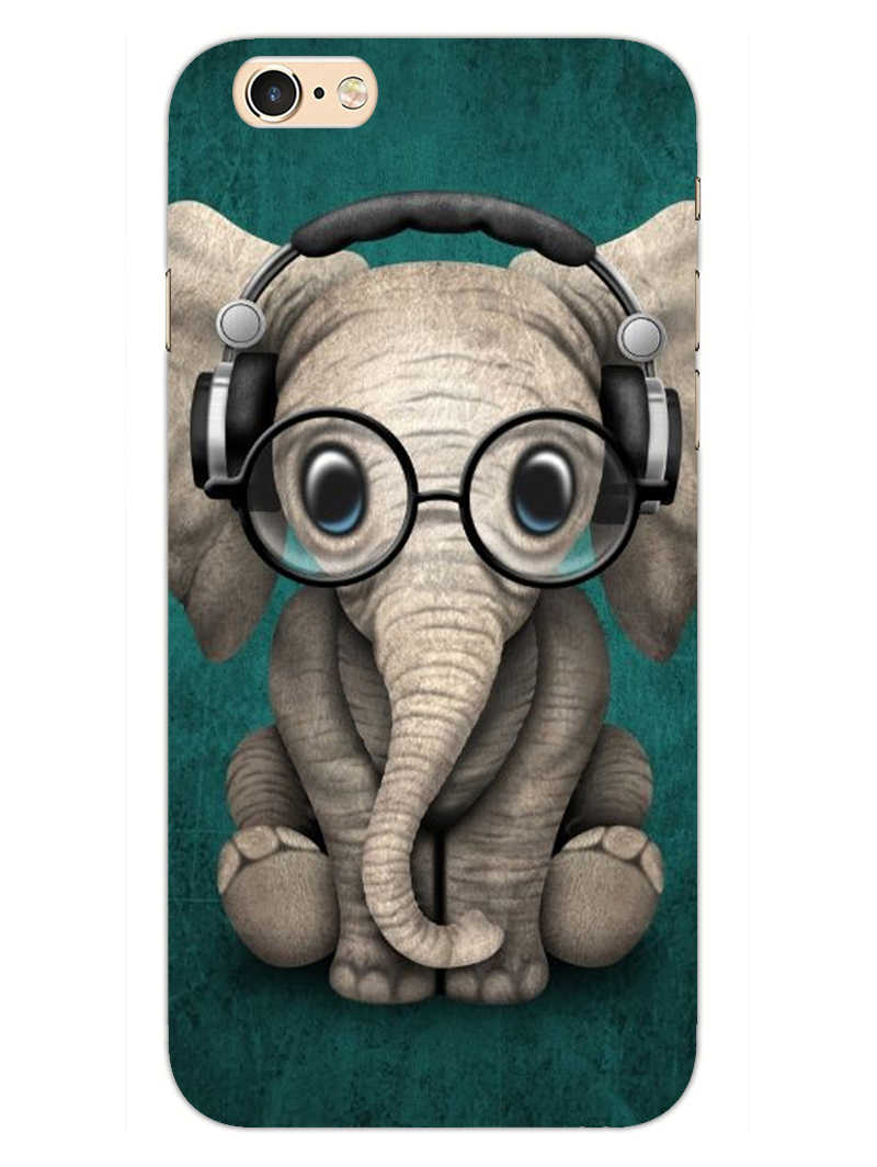 Cute Elephant iPhone 6S Plus Mobile Cover Case - MADANYU