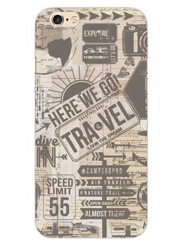 Wanderlust Graffiti iPhone 6S Plus Mobile Cover Case