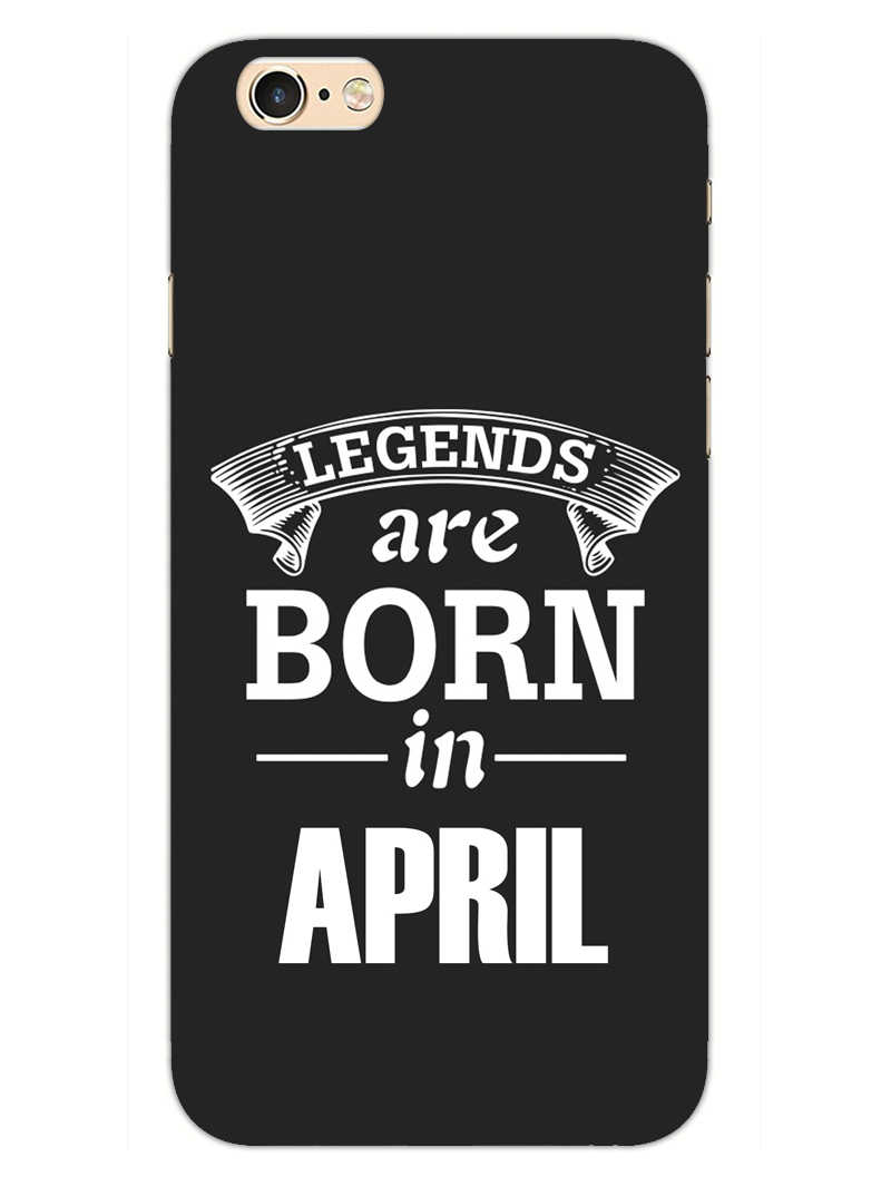 Legends April iPhone 6S Plus Mobile Cover Case