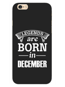 Legends December iPhone 6S Plus Mobile Cover Case