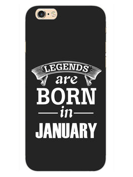 Legends January iPhone 6S Plus Mobile Cover Case