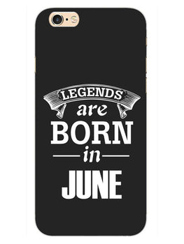 Legends June iPhone 6S Plus Mobile Cover Case