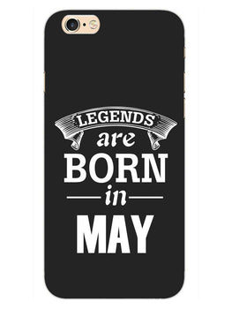 Legends May iPhone 6S Plus Mobile Cover Case