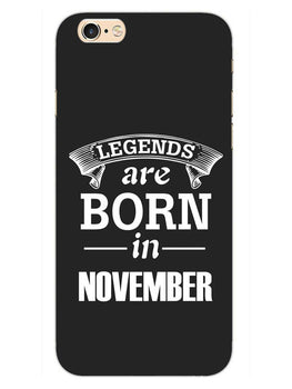 Legends November iPhone 6S Plus Mobile Cover Case