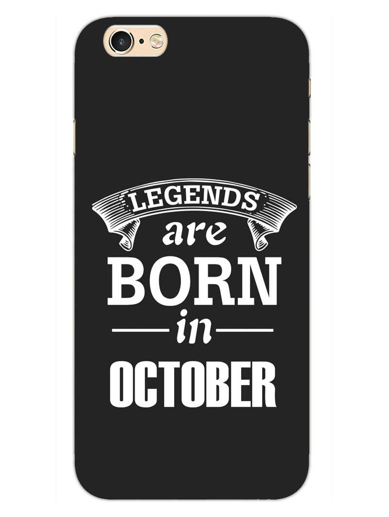 Legends October iPhone 6S Plus Mobile Cover Case