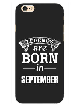 Legends September iPhone 6S Plus Mobile Cover Case