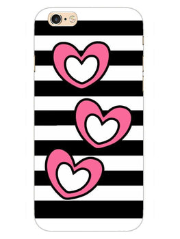 Three Hearts iPhone 6S Plus Mobile Cover Case