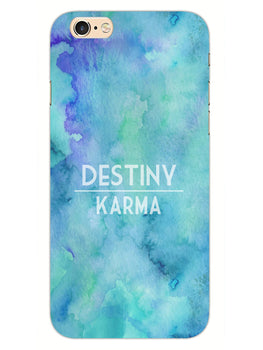 Destiny Vs Karma iPhone 6S Plus Mobile Cover Case