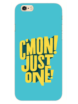 Come On Motivational Quote iPhone 6S Plus Mobile Cover Case