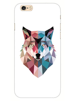 Geometric Wolf Poly Art iPhone 6S Plus Mobile Cover Case