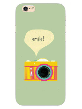 Smile Vintage Camera iPhone 6S Plus Mobile Cover Case