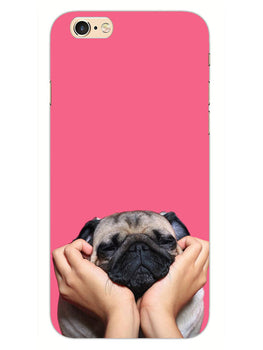 Funny Pug Dog Lovers iPhone 6S Plus Mobile Cover Case