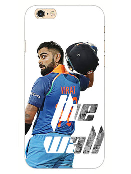 Kohli The Wall Cricket Lover iPhone 6S Plus Mobile Cover Case