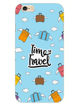 Time To Travel iPhone 6S Plus Mobile Cover Case