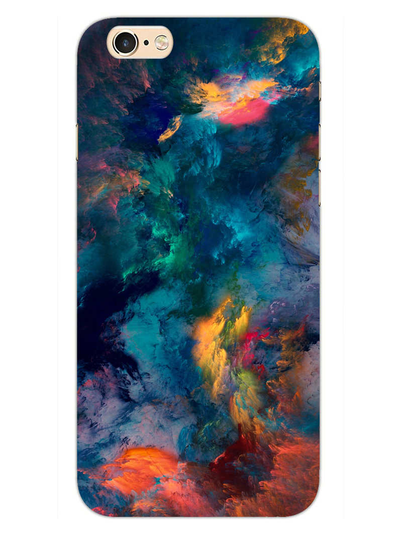 Color Storm iPhone 6S Plus Mobile Cover Case - MADANYU