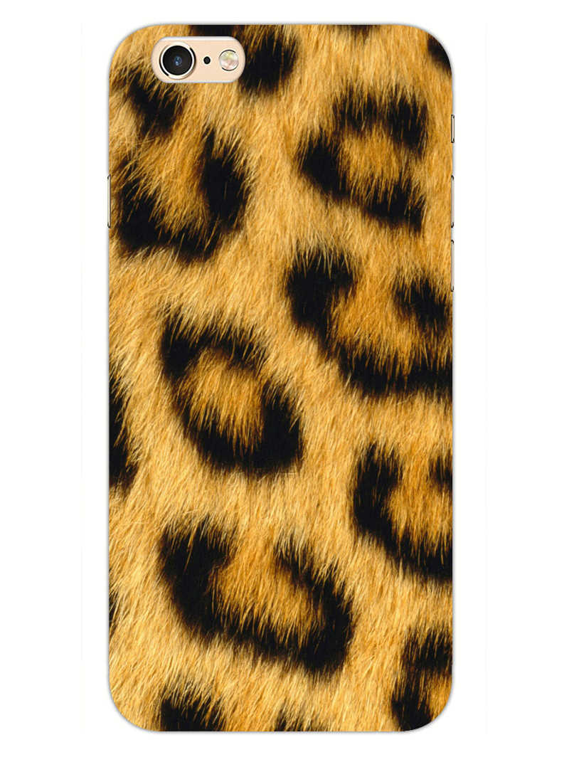 Leopard Print iPhone 6S Plus Mobile Cover Case
