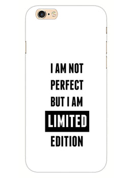 I Am Limited Edition iPhone 6S Plus Mobile Cover Case