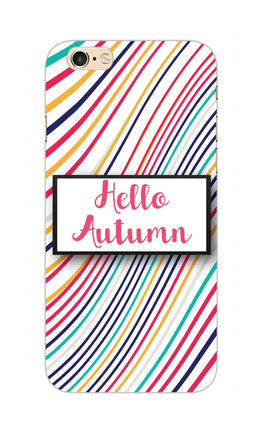 Lines Autumn For Artist iPhone 6S Plus Mobile Cover Case