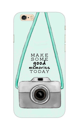 Camera Art For Good Memories iPhone 6S Plus Mobile Cover Case