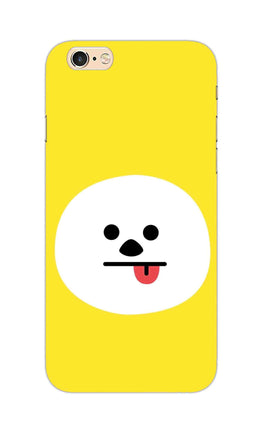 Tongue Out Smile Funny Face iPhone 6S Plus Mobile Cover Case