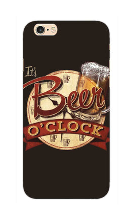 Beer Oclock Beer Lovers iPhone 6S Plus Mobile Cover Case