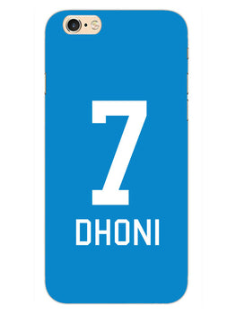 Dhoni Jersey iPhone 6S Plus Mobile Cover Case