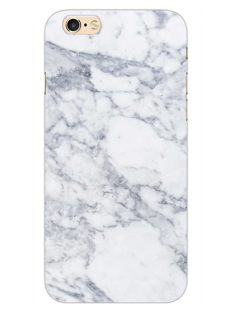 Chic White Marble iPhone 6S Mobile Cover Case - MADANYU