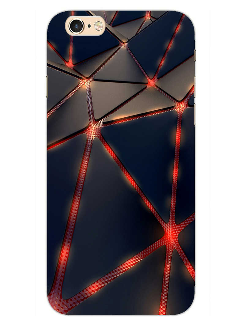 Broken Abstract iPhone 6S Mobile Cover Case - MADANYU