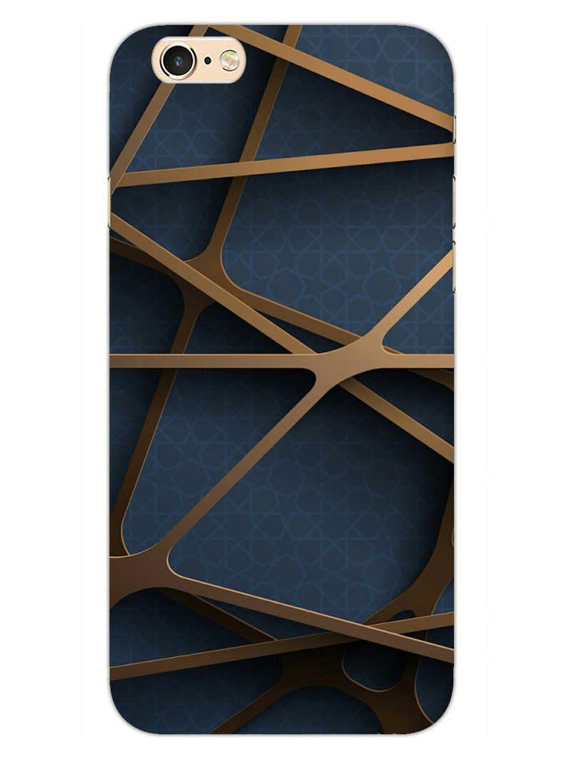 Random Geometry iPhone 6S Mobile Cover Case - MADANYU