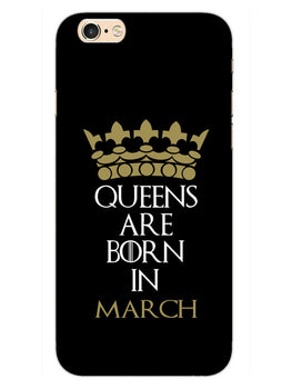 Queens March iPhone 6S Mobile Cover Case