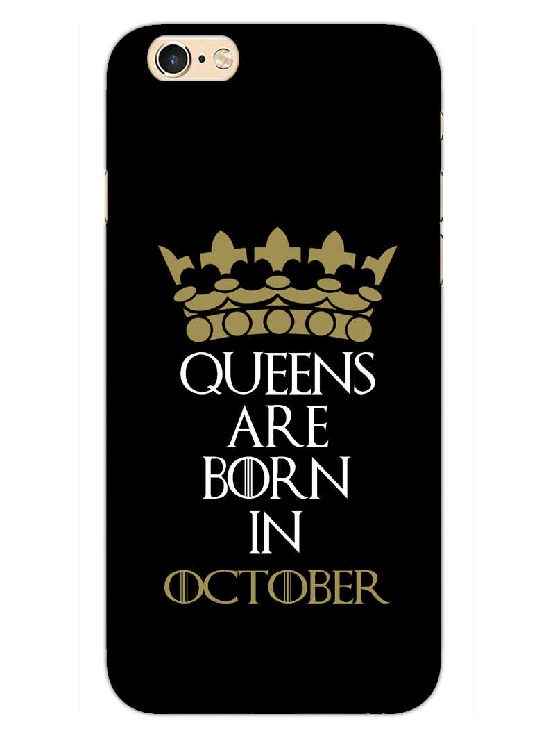 Queens October iPhone 6S Mobile Cover Case