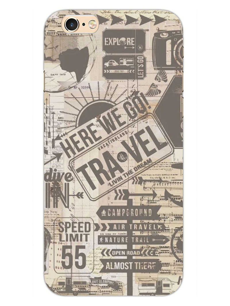 Wanderlust Graffiti iPhone 6S Mobile Cover Case
