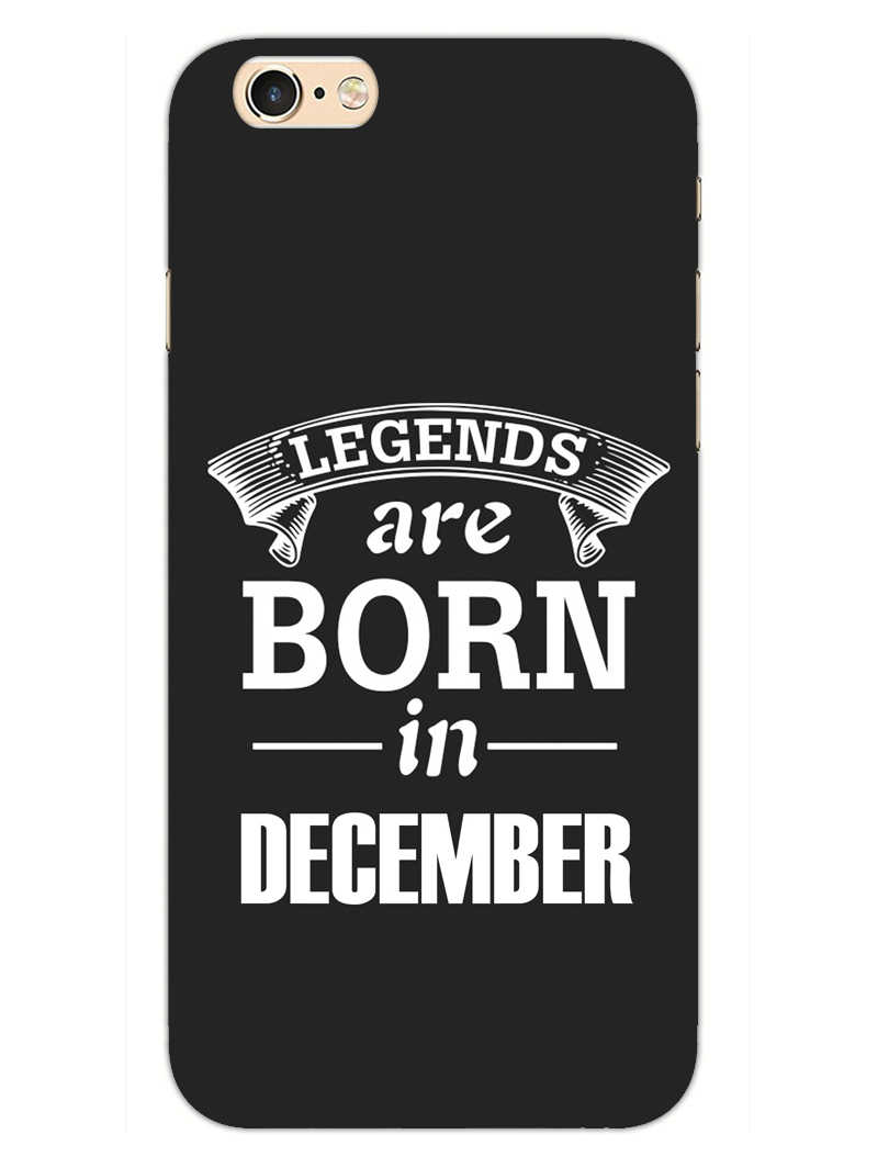 Legends December iPhone 6S Mobile Cover Case
