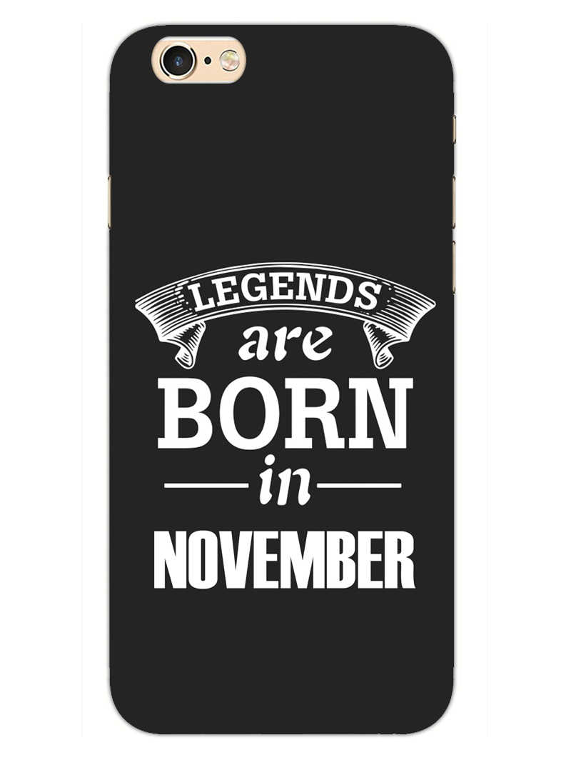 Legends November iPhone 6S Mobile Cover Case - MADANYU