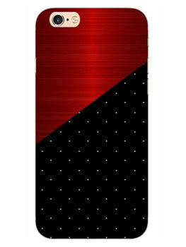 Polka Dots On Wood iPhone 6S Mobile Cover Case