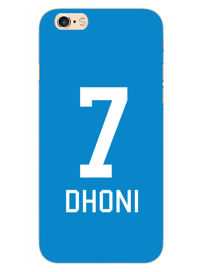 Dhoni Jersey iPhone 6S Mobile Cover Case