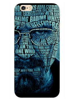 Heisenberg Typography iPhone 6 Mobile Cover Case