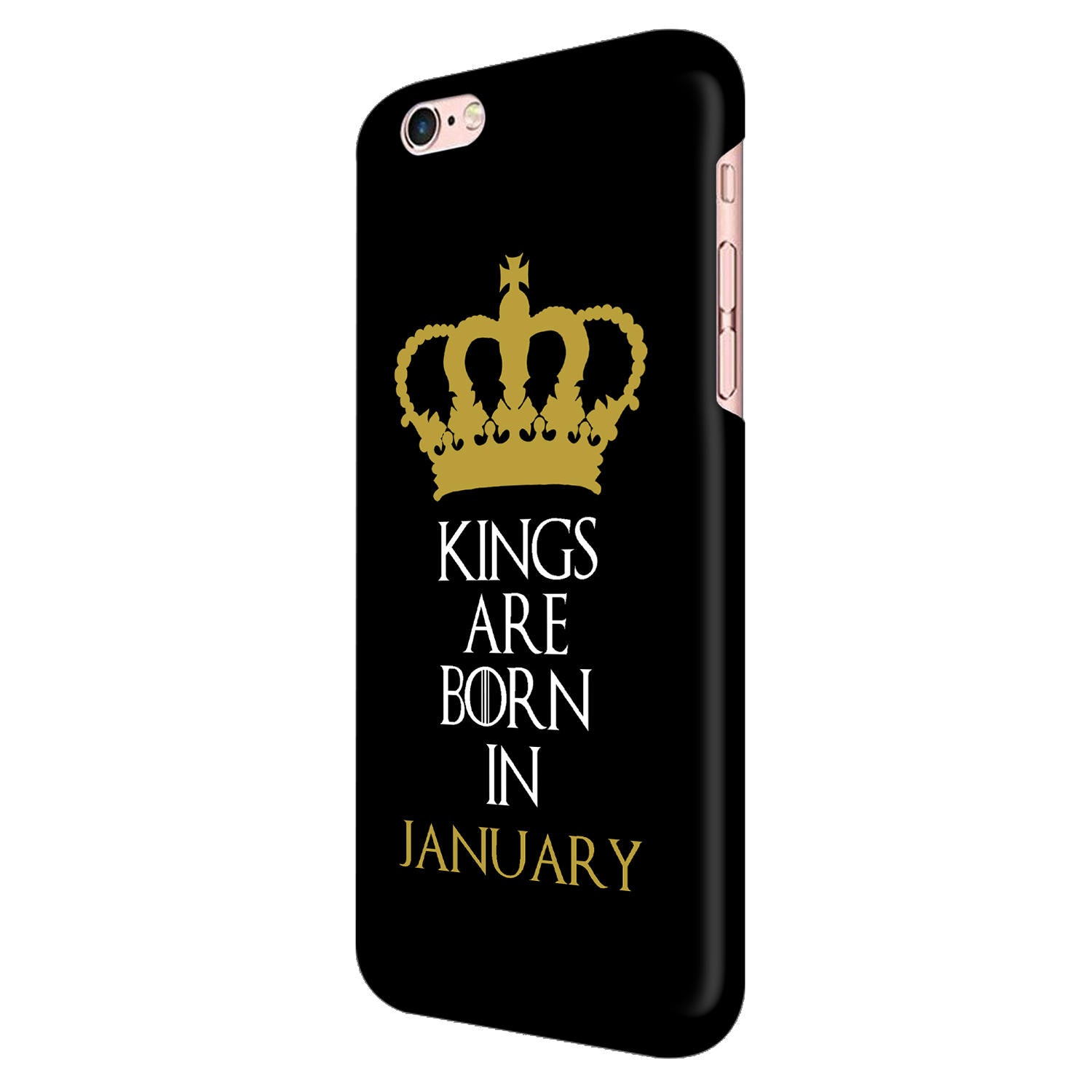 Kings January iPhone 6 Mobile Cover Case - MADANYU