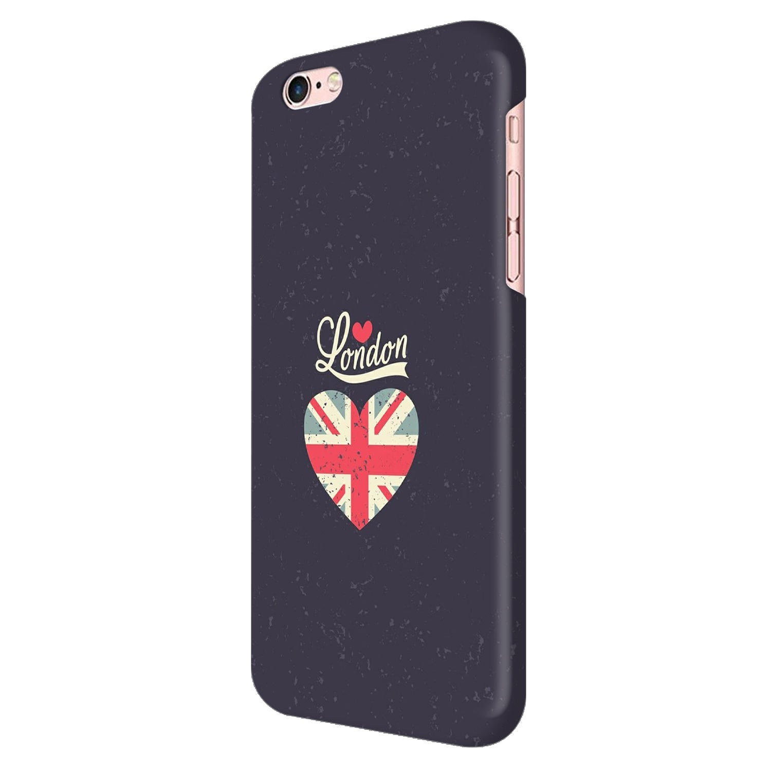 I Love London Typography Art For Artist iPhone 6 Mobile Cover Case - MADANYU