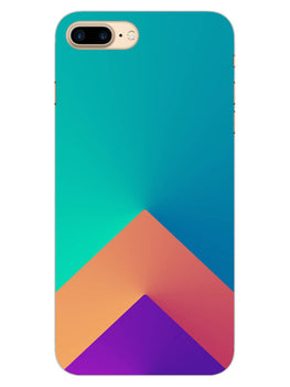 Triangular Shapes iPhone 7 Plus Mobile Cover Case