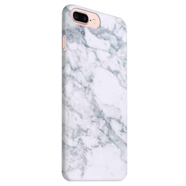 Chic White Marble iPhone 8 Plus Mobile Cover Case